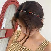 髮箍 頭箍 韓國東大門超仙甜美軟萌簡約髮箍小清新頭飾髮卡百搭細頭箍壓髮