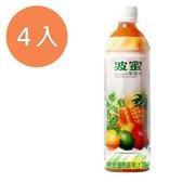 波蜜 果菜汁 580ml (4入)/組【康鄰超市】