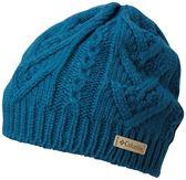 【Columbia】中性保暖快排毛帽墨藍