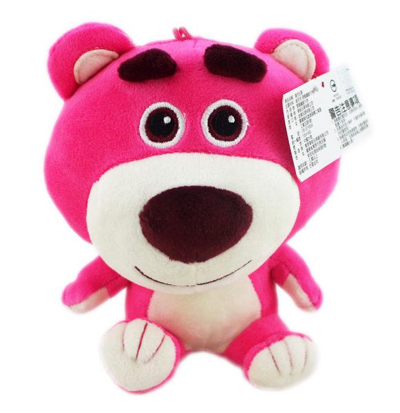 【卡漫城】 熊抱哥 17cm Q版 吊飾 ㊣版 布偶 玩偶 Lotso 玩具總動員 絨毛娃娃 Toy Story