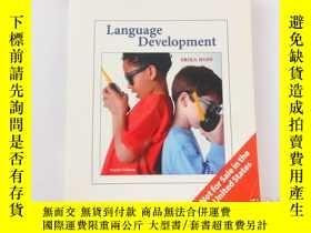 二手書博民逛書店罕見Language Development(Fourth Ed