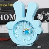 電子鬧鐘 簡約創意鬧鐘學生用可愛靜音床頭兒童迷你個性學生小鬧鐘鐘錶  享購