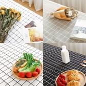 餐桌布棉麻小清新桌布布藝格子北歐文藝書桌茶幾餐桌簡約現代家用長方形 蜜拉貝爾