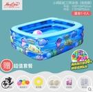 游泳池嬰兒童游泳池充氣家庭加厚家用小孩嬰兒大人寶寶超大戶外大型LX618購