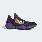Adidas Harden Vol. 4 J [EF2080] 女鞋 籃球 大鬍子 哈登四代 星際大戰 聯名 紫黑