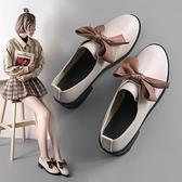 樂福鞋 小皮鞋女英倫鞋子女2021年新款春季ins潮晚晚風溫柔鞋黑色樂福鞋 小衣裡