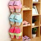 韓版 創意 拖鞋收納架 立體牆壁掛式鞋架...
