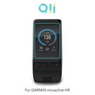 兩片裝 Qii GARMIN vívoactive HR 玻璃貼 鋼化玻璃貼 自動吸附 2.5D弧邊 手錶保護貼