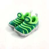 小童NIKE DYNAMO FREE輕量毛毛蟲鞋運動鞋 學步鞋 《7+1童鞋》 E855 綠色