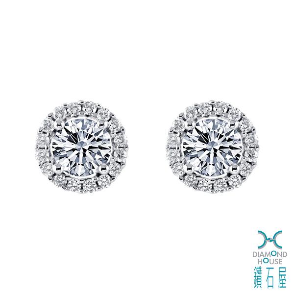 【鑽石屋】54分鑽石耳環