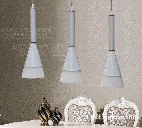 三頭吊燈 花束造型 餐廳客廳書房燈具裝飾 簡約現代