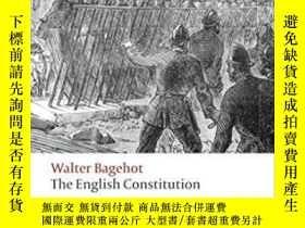 二手書博民逛書店The罕見English Constitution (oxfor