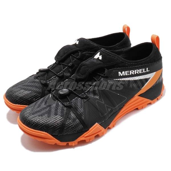 Merrell 戶外鞋 Avalaunch Tough Mudder 黑 橘 男鞋 聯名款 戶外 多功能 輕量越野 運動鞋【PUMP306】 ML37789