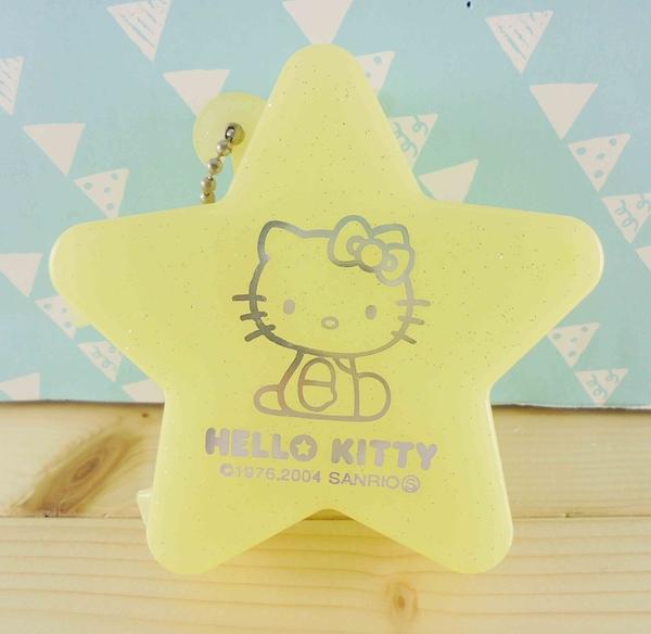 【震撼精品百貨】Hello Kitty 凱蒂貓~KITTY空盒-黃星星