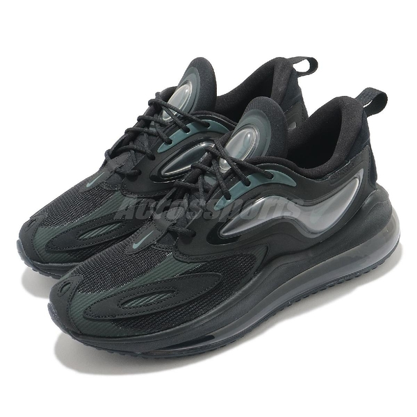 Nike 休閒鞋 Air Max Zephyr 黑 灰 男鞋 氣墊 裝飾片 運動鞋 【ACS】 CV8837-002