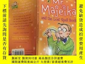 二手書博民逛書店mr罕見majeika and the lost spell book majeika先生和魔法書Y20039