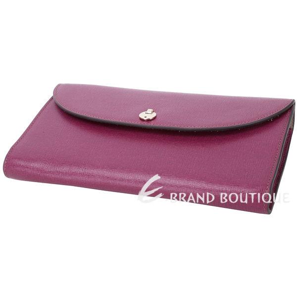 FURLA Gioia 防刮牛皮斜背晚宴包(桃紫色) 1740423-04