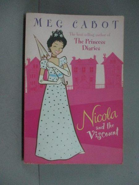 【書寶二手書T9/原文小說_GDM】Nicola and the Viscount_Meg Cabot, Meg Cab