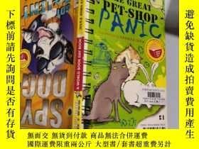 二手書博民逛書店The罕見Great Pet-Shop Panic :大寵物店恐慌.Y200392