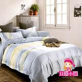 天絲床包獨立小調雙人床包2 枕套共三件組可包覆床墊35 公分【貝淇小舖】