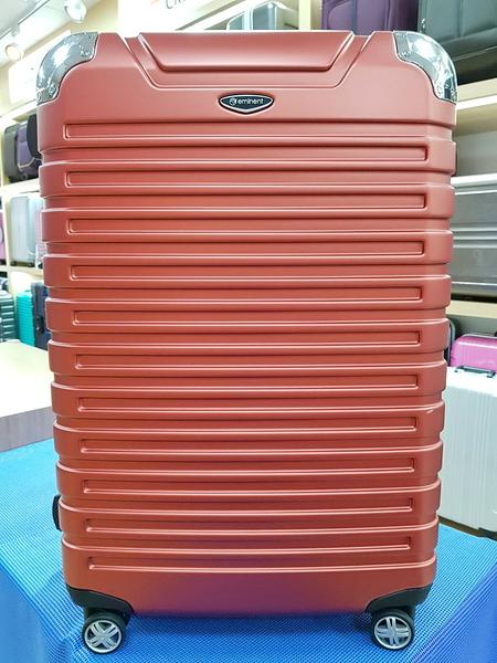 EMINENT雅仕 萬國通路 28吋新色 霧面鋁框 PC材質 行李箱/旅行箱-(新橘紅)9Q3