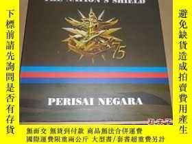 二手書博民逛書店the罕見nation s shield(精裝英文原版)國家的盾