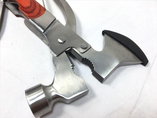 【彩木12合一斧頭槌YS-5901】018160露營用品 登山用品 工具組【八八八】e網購