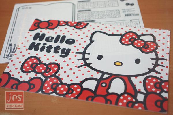 Hello Kitty 多用途大墊板 (蝴蝶結點點)