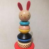 層層疊小兔塔 兒童益智不倒翁疊疊樂寶寶積木套柱1-5歲