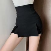 褲裙 網紅短褲女2020年夏季新款時尚高腰緊身顯瘦包臀黑色性感半身褲裙 韓國時尚週