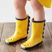 小恐龍兒童雨鞋男童輕便防滑小孩嬰幼兒寶寶雨靴小童水鞋女童膠鞋