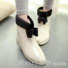 雨鞋女時尚款外穿韓國保暖可愛雨靴成人防水防滑韓版短筒水靴 618購物節