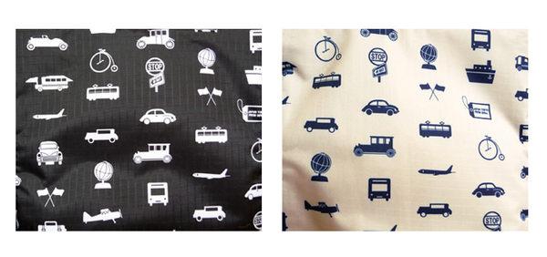 HAPI+TAS 摺疊小旅行袋 - 米色交通運輸