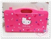 ♥小花花日本精品♥ Hello Kitty 迷你麻將旅行用麻將攜帶方便旅行可帶點點大臉造型粉色 11505303