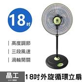 【晶工】18吋超循環涼風扇 LV-1868