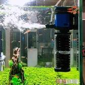 濾水器森森內置魚缸過濾器靜音增氧泵三合一潛水泵烏龜缸水族箱過濾設備 萌萌小寵