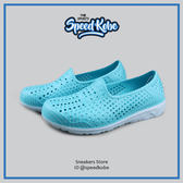 PONY 水鞋 Tropic 拖鞋 海灘鞋 防水 洞洞鞋 懶人鞋 水藍 幾何 62U1SA61PB 【Speedkobe】
