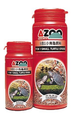AZOO 愛族【9合1小烏龜飼料 900ml】幼龜專用 魚事職人