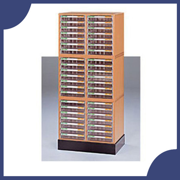 【必購網OA辦公傢俱】A4-7207Hx3+A4-02H 雙排文件櫃+底座 木質公文櫃