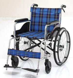 【健康購】JW-100 鋁合金輪椅..經濟型