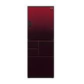 【南紡購物中心】夏普【SJ-WX55ET-R】自動除菌離子變頻觸控左右開冰箱(紅色)