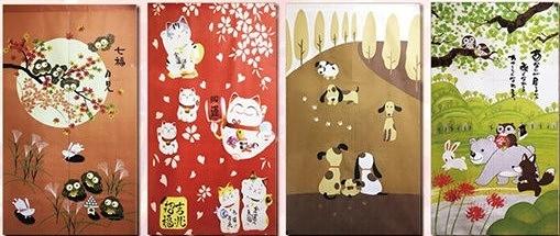 【歡慶周年】日式和風門簾 .特價優惠中!