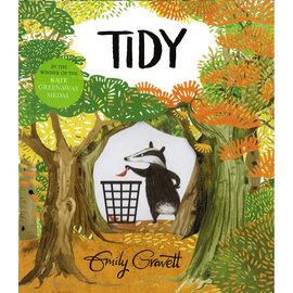 TIDY /英文繪本《主題: 品格教育.環境保護》(中譯: 整潔)