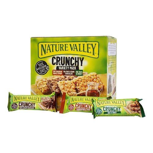 Nature Valley 天然谷 綜合口味燕麥棒 40 入/1.68 公斤