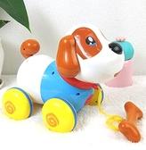 玩具狗狗走路會叫會唱歌音樂拉線狗小狗男孩1歲2電動玩具 聖誕節全館免運