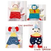 安撫巾寶寶睡覺可入口0-1歲安撫玩偶毛絨玩具手偶【齊心88】