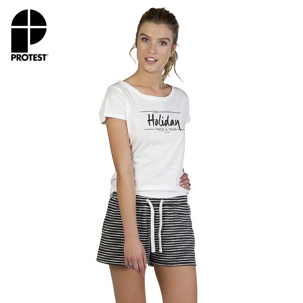 PROTEST 女 休閒短褲 (基本黑) MOSQUITO SHORTS