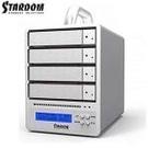 STARDOM 3.5吋4bay磁碟陣列-SR4-WBS3+