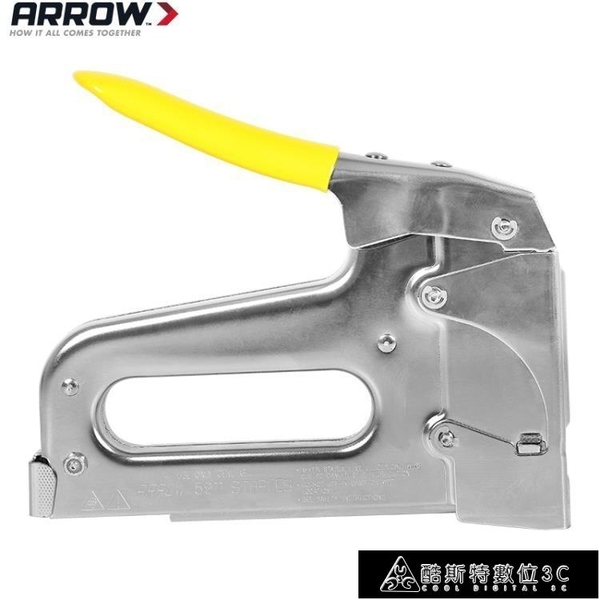 射釘槍 美國進口ARROW低壓絕緣碼釘槍手動氣釘槍家用裝修排釘射釘槍打釘槍 快速出貨