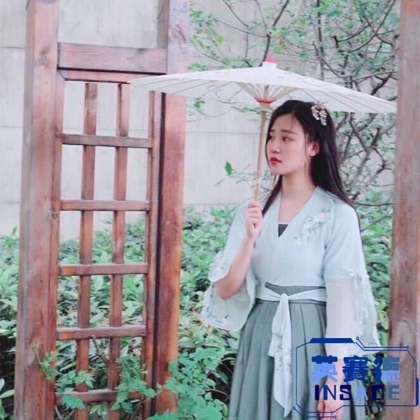 舞蹈演出傘道具油紙傘女古風中國風和風古典紙雨傘直立傘【英賽德3C數碼館】